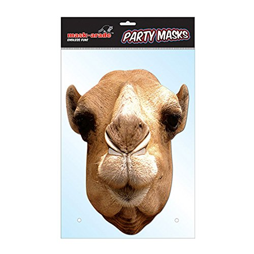 [Camel Cardboard Party Mask] (Camel Child Costumes)
