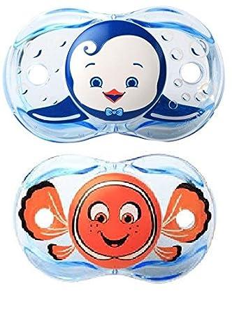 Raz-Baby tenerlo limpio Chupete Bundle - Fish Design y ...