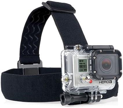 Elástico correa principal ajustable de montaje Correa para GoPro HD Hero 1//2//3//4 Cámara G4C7