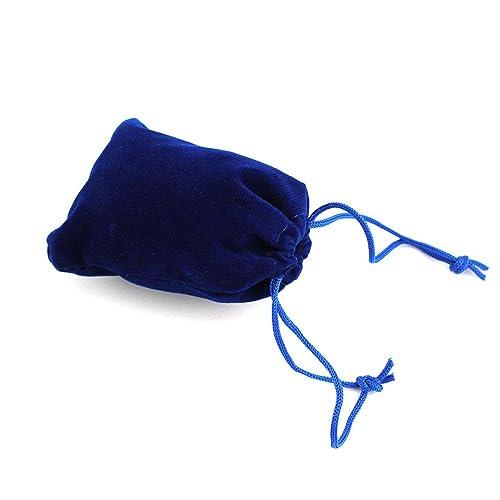 RUBY-50 Bolsas Regalo De Terciopelo para Joyas 7x9cm (Azul ...