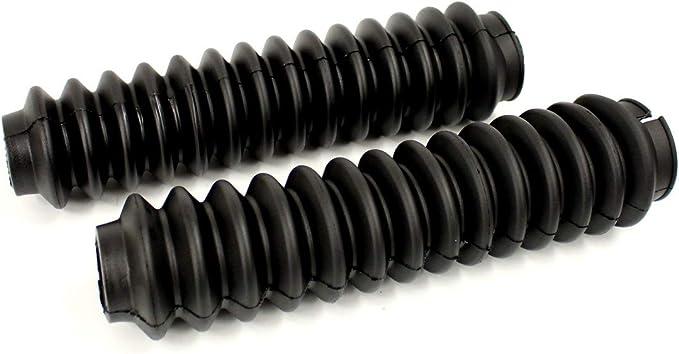 Paar Stoßdämpfer Gummi Schwarz Auto