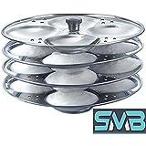 SMB Stainless Steel 4 Tier Idli Maker