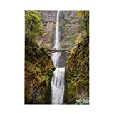 "CafePress - Multnomah Falls Oregon - Rectangle Magnet, 2""x3"" Refrigerator Magnet"