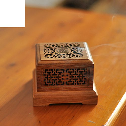 DW&HX Wood sandalwood furnace coil furnace wood [hollow] household use aroma stove-B by DW&HX (Image #4)