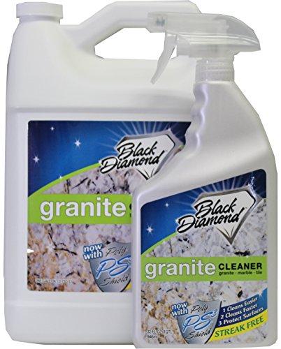 black-diamond-granite-cleaner-combo-qt-gallon-natural-stone-marble-travertine-tile-silestone-cambria