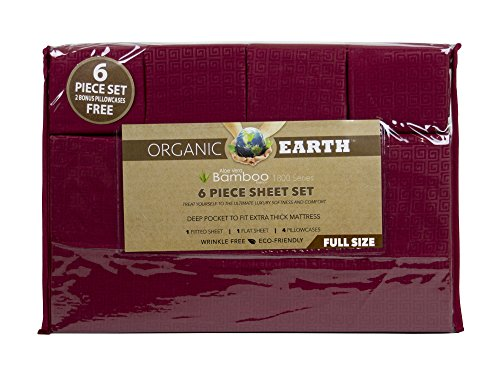 Organic Earth Bamboo Essence Burgundy