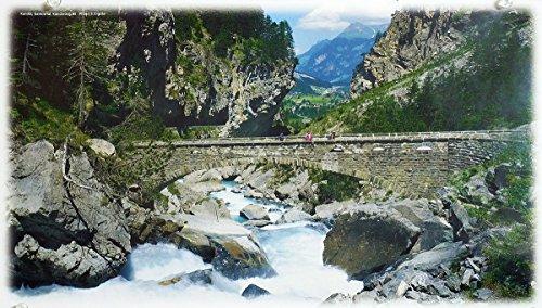 DollsofIndia Kander River in Gasterntal - Switzerland -Photo by S.Eigstler -8.75x15.75 inches (QW05)