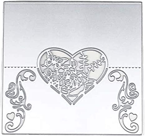Hearts DIY Metal Cutting Dies Stencil Scrapbooking Album Stamp Paper Card Emboss