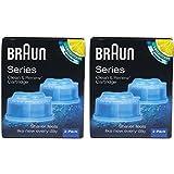 Braun CCR4 クリーナー詰め替えキット/クリーン$は、CCR 4パックを更新 [並行輸入品]