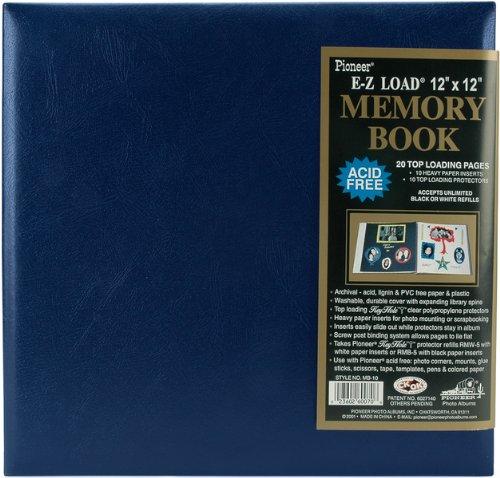 (Leatherette Postbound Album 12