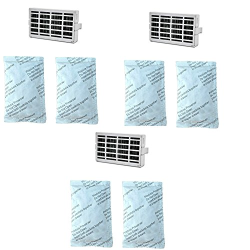 (3-pack) Whirlpool, Maytag, or Kitchen Aid Compatible Fresh Flow Filters Bundle Pack