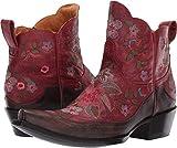 Old Gringo Women's Bonnie Short Red/Chocolate 8.5 B US