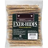 Salix Exer-hides Chicken Flavored Munchy Rawhide Sticks, 50 count