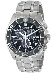 Citizen Mens Eco-Drive Signature Chronograph Watch with Perpetual Calendar, BL5440-58E