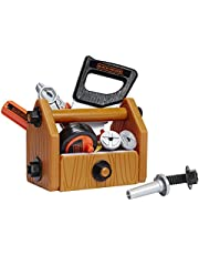 BLACK & DECKER 90320 Junior Deluxe 42 Piece Toy Tool Set with Toolbox