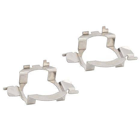 Amazon.com: Senzeal 2 piezas LED Faro Coche Portalámparas ...