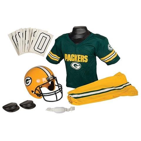 NFL Green Bay Packers Boy's Uniform Set, Medium (Nfl Helmets Kids)