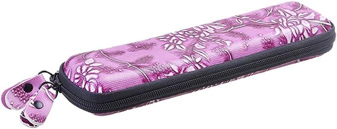 Nowbetter - Estuche para lápices y lápices capacitivos (Goma EVA, Incluye lápiz Capacitivo), Morado, 20 * 6 * 3CM: Amazon.es: Hogar