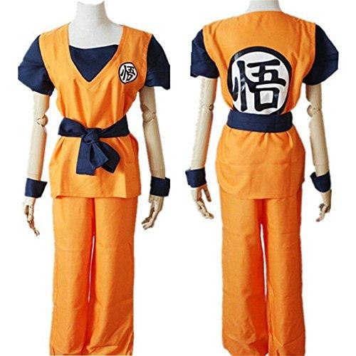 [Smile Style Cosplay Costume Anime Dragon ball Z Son Goku Kame] (Dragon Ball Z Costume For Adults)