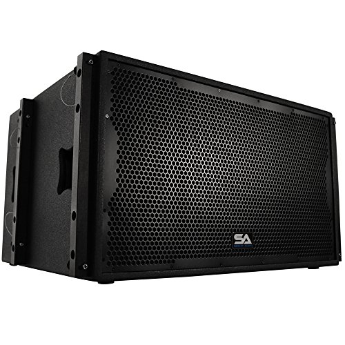 Seismic Audio SALA-215S Premium Passive 2 x 15 Line Array Subwoofer PA/DJ Band Live Sound