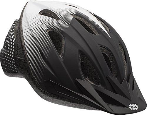 Sonic Helmet - Bell Surge Adult Helmet, Matte Black/White Sonic Boom