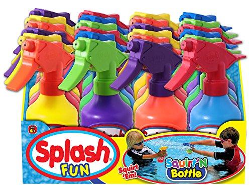 Ja-Ru Splash Fun Squirt' N Bottle Party Favor Bundle Pack (Squirt Party)
