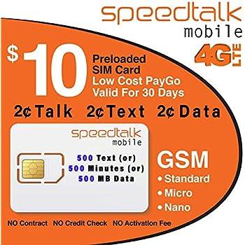 Amazon.com: Tarjeta SIM con 1 mes de servicio – estándar ...
