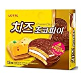 Lotte Choco Pie Cheese 384G 1 pack