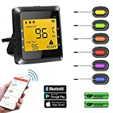 Best Wireless Meat Thermometers - Meat Thermometer- BUKELERN Smart Food Thermometer Wireless Remote Review
