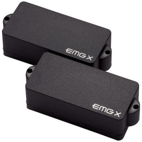 EMG P-X Active Bass Pickup Set, Black, used for sale  Delivered anywhere in USA