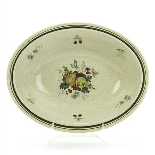 Cornwall by Royal Doulton, Stoneware Vegetable Bowl, Oval