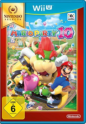 Price comparison product image Wii U Mario Party 10 Selects
