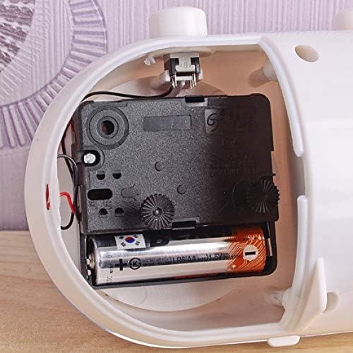 Muellery Manual Analog Flip Desk Table Alarm Clock Retro Quartz ...