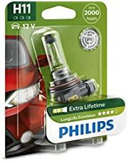 Philips Long Life Ecovision H11 12V globe - single blister pack