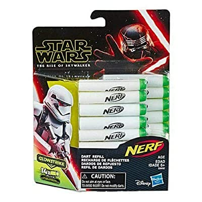 Star Wars Nerf Glowstrike Dart Refill: Toys & Games