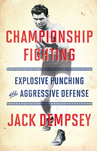 Championship Fighting: Explosive Punching and Aggressive Defense cover