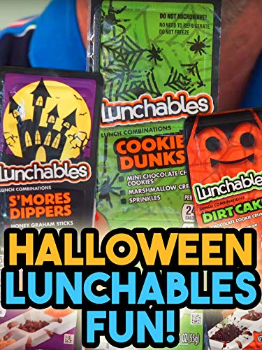Review: Halloween Lunchables -
