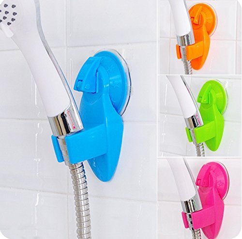 Pack of 2 Movable Suction Shower Head Holders/Caddies / Stand
