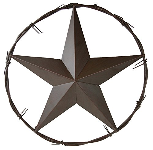 (LL Home Metal Barbwire Star, 16-Inch)