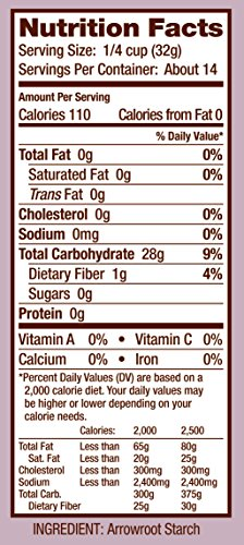 Bob's Red Mill Arrowroot Starch / Flour, 16 Ounces (Packaging May Vary) by Bob's Red Mill (Image #6)
