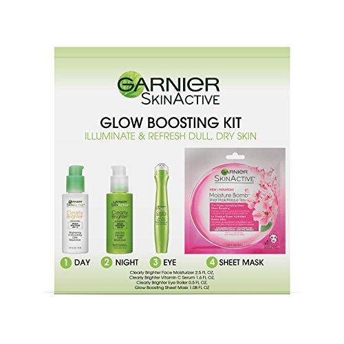 Garnier SkinActive Glow-Boosting Skincare Kit ()