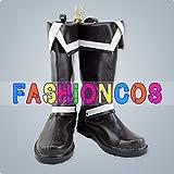 ★サイズ選択可★女性24CM UC034 D.Gray-man アレン・ウォーカー コスプレ靴 ブーツ