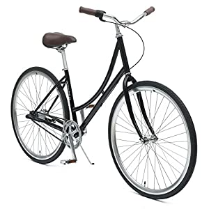 Critical Cycles Dutch Step Thru 3 Speed City Coaster Commuter Bicycle, 44cm/One Size