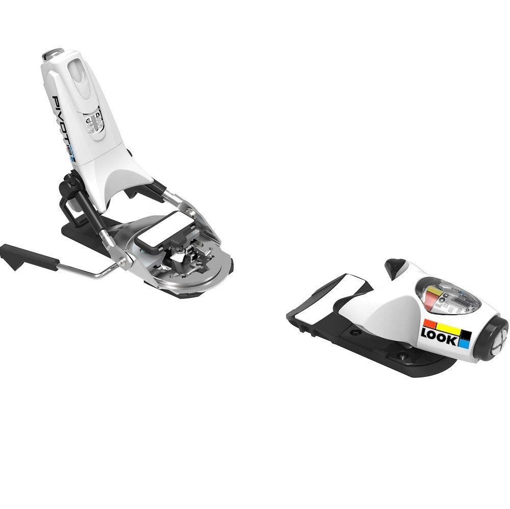 2018 Look Pivot 18 B75 White Icon Ski Bindings