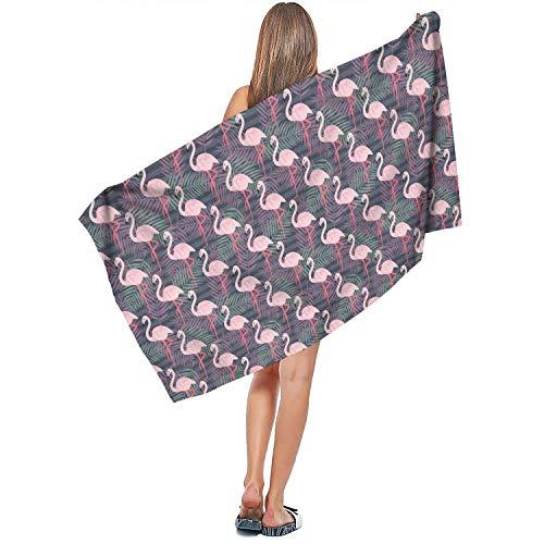 Warmer Finishes Designer Towel - Sbortjkbb Indoor/Outdoor Soft Designer Extra Large Bath Towel Comfortable Quick Dry Absorbent Flamingo Stripes Sign Wallpaper Pattern Personalized Swim Towels 27.5