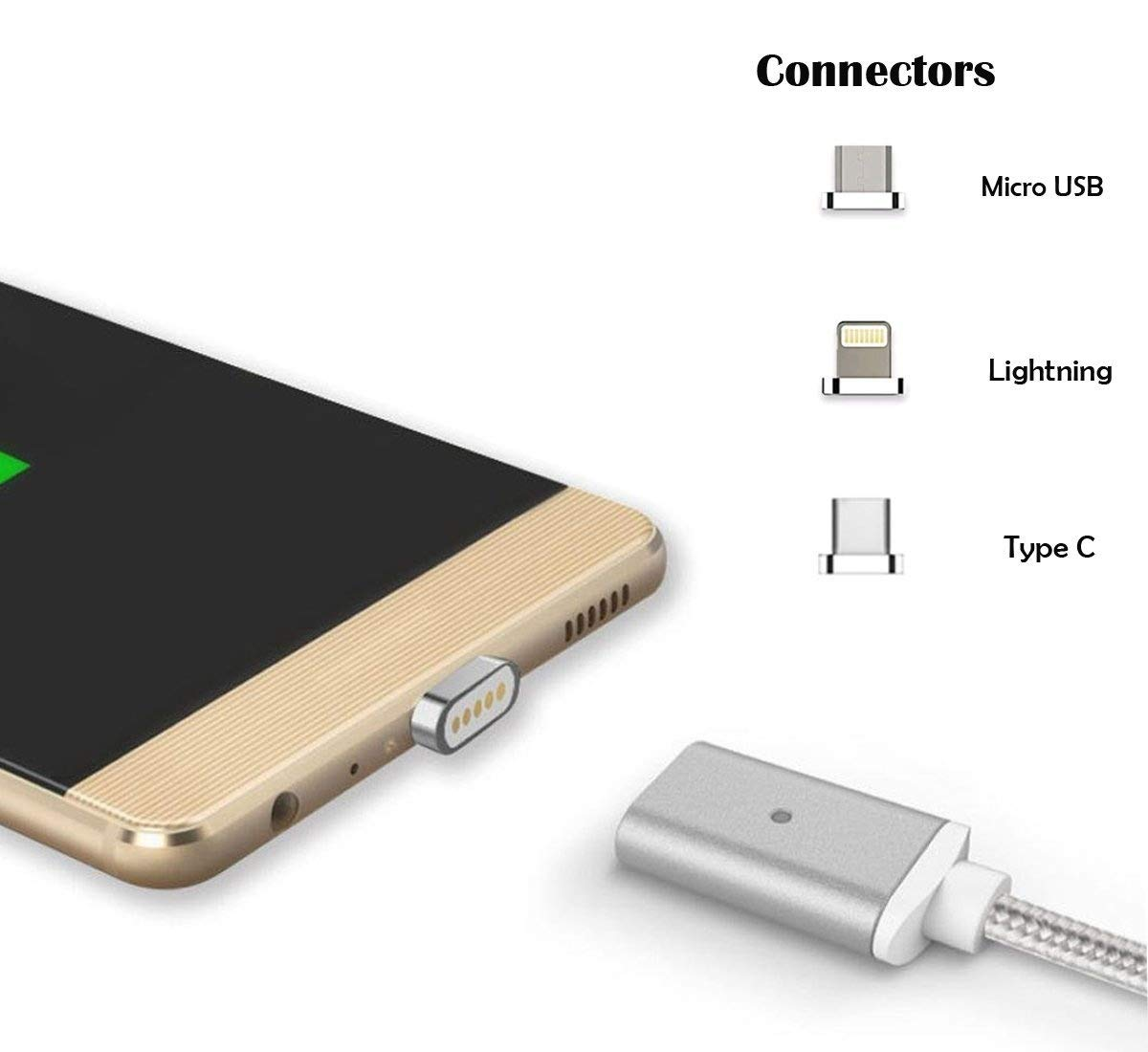 Amazon.com: Lively Vida 3 en 1 cable de cargador magnético ...
