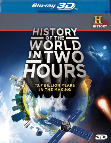 History of the World in Two Hours 3D [Blu-ray] Douglas J. Cohen Lionsgate Home Entertainment 25752899 Movie