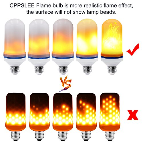 CPPSLEE-LED-Flame-Effect-Light-Bulb-E26-Standard-Base-Christmas-Decoration-Simulation-Fire-Flickering-105pcs-2835-LED-Beads-Flame-Light-for-Hotel-Bars-Home-Decoration