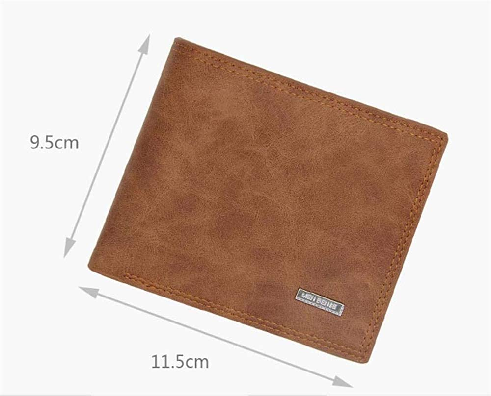 Personalized Mens Custom Photo Wallet Engraved Leather Pocket Wallet Slim Wallet Personalized Wallet For Father