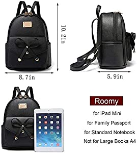 Cute Interesting Graphic Ladies Leather Backpack Womens Shoulder Bag Drawstring Waterproof Fashion Womens Bag Cute Leather Backpack For Women